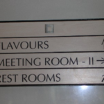 Internal Wayfinding Signs