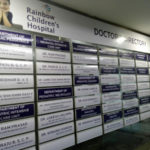 Hospital Doctors Sign Board