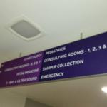 Hospital Wayfinding Signage