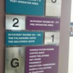 Hospital Wayfinding Sign Boards