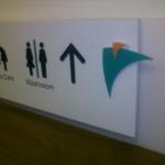 Shopping Mall Wayfinding Signage